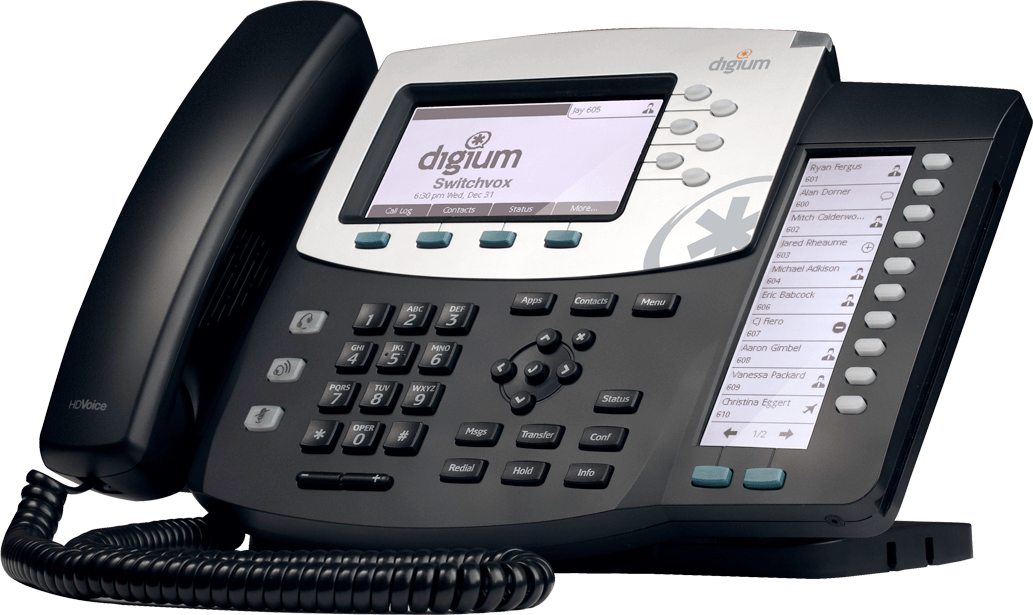 Digium D50 IP Phone for Switchvox